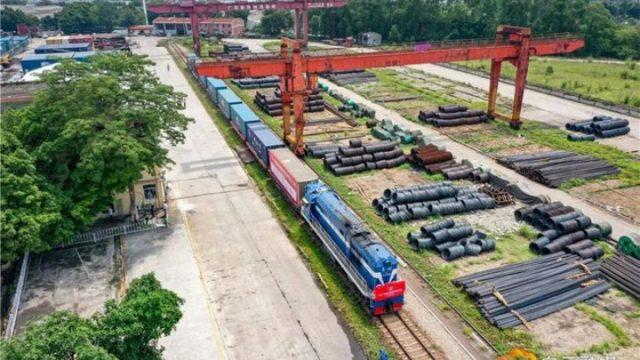 Прямой грузовой поезд Китай-Европаиз Гуанчжоу прибыл в Одесскую область