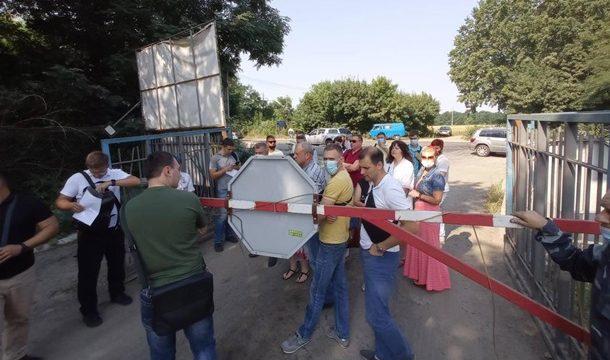 СБУ проводит следственные действия на главной киевской свалке
