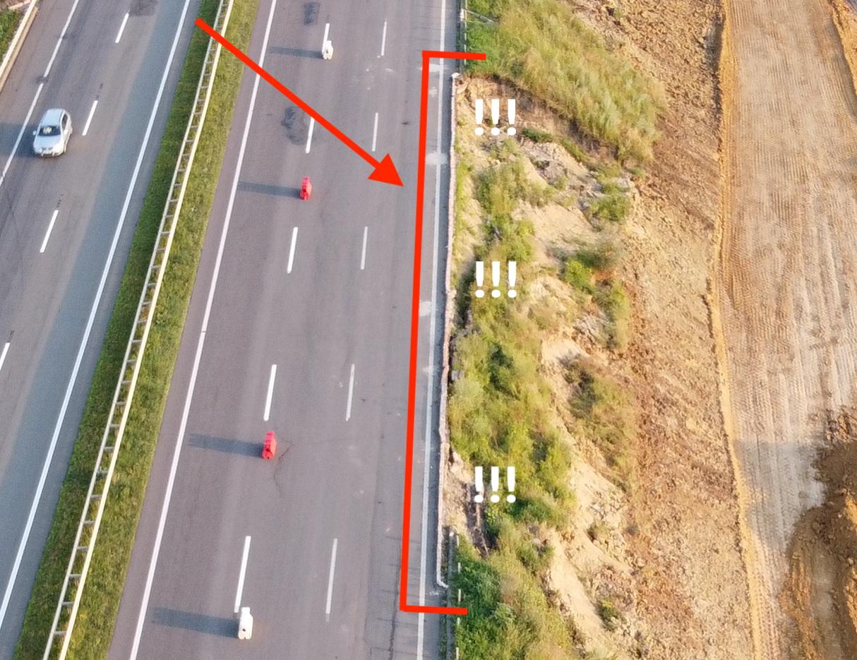 Траса М-05, Київ-Одеса, 337 км, біля с. Троїцьке