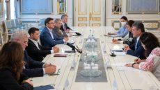 Зеленский обсудил с Вице-президентом Еврокомиссии стратегическое партнерство с ЕС в сфере сырья