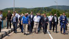 Зеленский посетил границу с оккупированной Абхазией