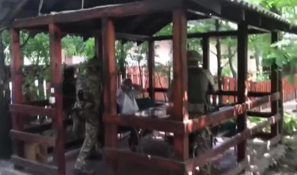 СБУ задержала российского разведчика (видео)