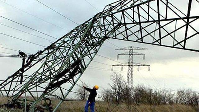 В Украине обесточены 170 населенных пунктов