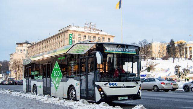 Киев намерен закупить до 20 электробусов