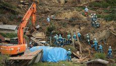 В Японии после оползня пропали без вести порядка 20 человек