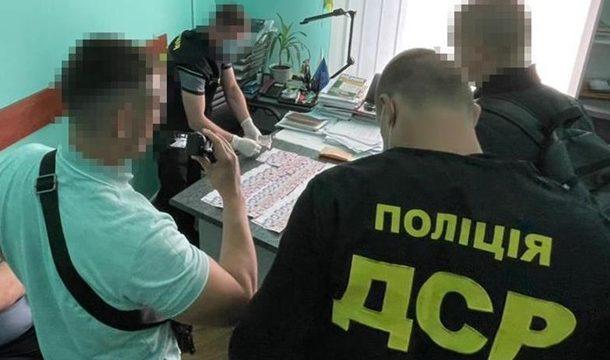 На Прикарпатье чиновника поймали на получении