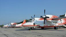 ГСЧС Украины продолжает помогать Турции в тушении масштабных лесных пожаров