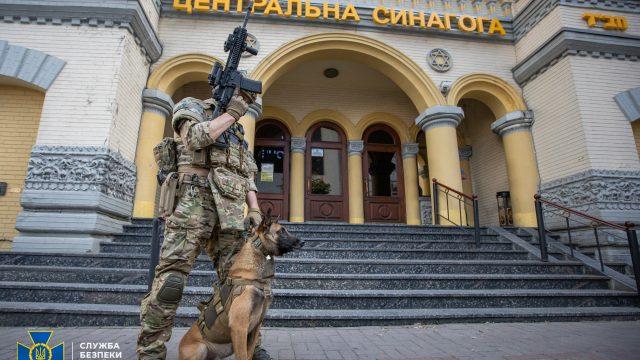 СБУ провела антитеррористические учения в столице