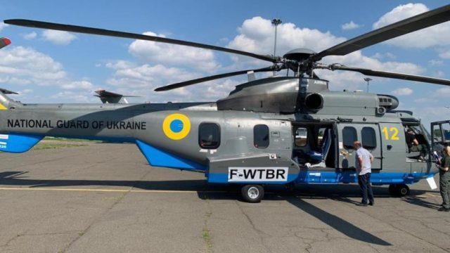 Авиация МВД Украины получила пятый в этом году вертолет Н-225