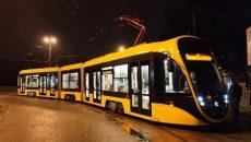 «Татра-Юг» поставила в Киев свой первый низкопольный трамвай