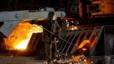 Металлурги увеличили производство стали на 7%