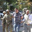 Угрожавшего взорвать Кабмин задержали (видео)