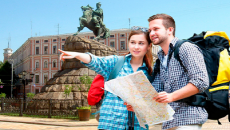 Украину посетило 1,5 млн туристов