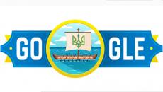 Google посвятил свой Doodle 30-й годовщине независимости Украины