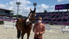 На Олимпиаде в Токио впервые усыпили спортивную лошадь