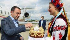 В Украину прибыл премьер-министр Грузии