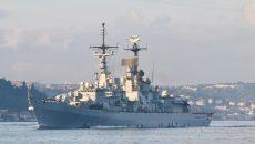 Ракетный эсминец НАТО зашел в Черное море