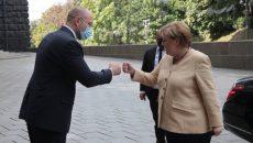 Шмыгаль поблагодарил Германию за финансовую поддержку малого и среднего бизнеса в Украине