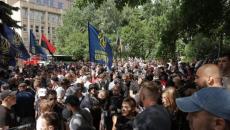 Нацкорпус собирается продолжить протесты под ОП