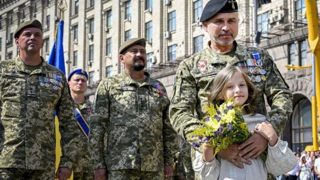 Завершился праздничный парад по случаю 30-й годовщины независимости Украины