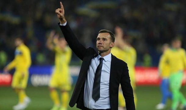 Шевченко уходит из сборной Украины