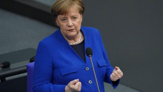 Меркель выступила с последней речью перед Бундестагом