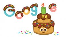 Google посвятил дудл своему Дню рождения