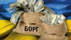 В июле госдолг Украины снизился в гривневом эквиваленте