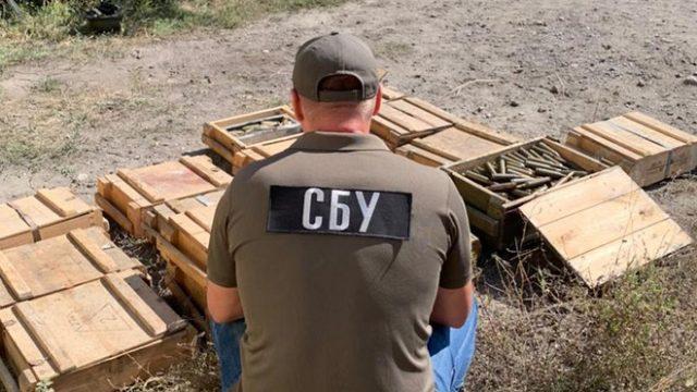 СБУ на Донбассе нашла 3 схрона диверсионных групп боевиков (фото)