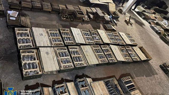 СБУ не допустила «розпродаж» арсеналу військової частини у Миколаєві (відео)