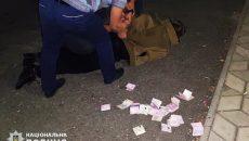 На Николаевщине полицейский собирал
