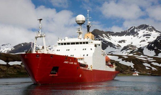Украинский ледокол, купленный у Британии, отправился в Одессу из Дании