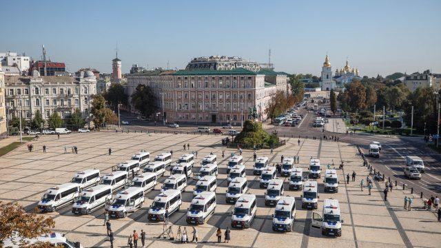 ЕС передал Нацполиции служебные автомобили