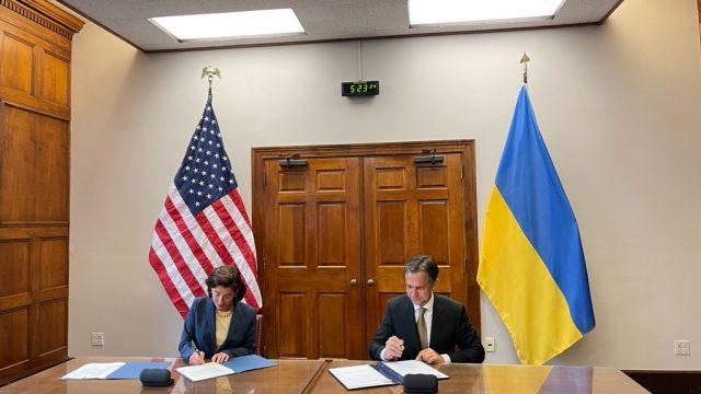 Украина и США усилят коммерческое сотрудничество