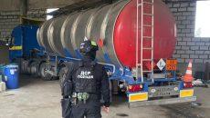 Полиция приостановила незаконную продажу спирта