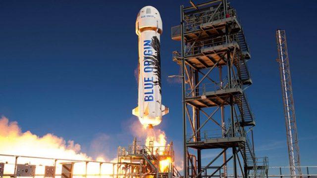 Blue Origin переносит суборбитальный полёт с туристами на борту на 13 октября