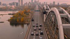 В Киеве начались работы по достройке Дарницкого моста (видео)