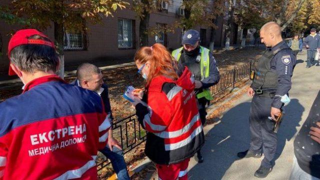 В Киеве участились случаи избиения инспекторов по парковке - КГГА (фото)